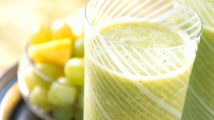 Grape and Green Tea Antioxidant Smoothie