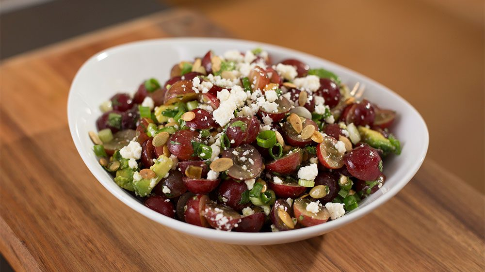 California Grape Avocado Salad